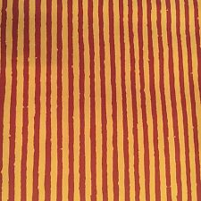 Vintage Wallpaper Red and Gold Thin Stripes by Motif