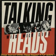 TALKING HEADS Wild Wild Life (1986 US Double Side A Picture Cover Promo 12inch)