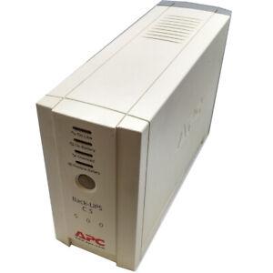 APC Back-UPS CS 500 VA Offline Tower BK500EI UPS New Battery & Power cable