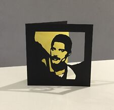 Papercut Freddie Mercury Queen Birthday Card Art Gift Present Ticket Wallet Love