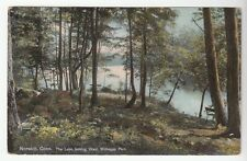 [43444] 1910 POSTCARD THE LAKE OF MOHEGAN PARK in NORWICH, CONNECTICUT
