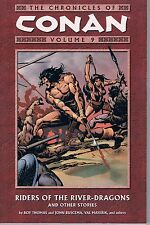 Chronicles of Conan Vol 9: Riders of the River-Dragons & Others 2005 TPB OOP
