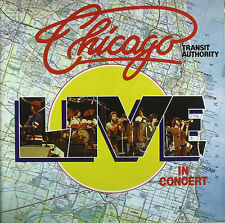 Chicago-transit Authority, live in concert-LP-washed-cleaned - l3928