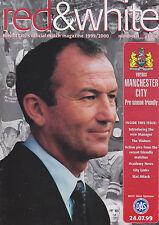 Programma CALCIO Plus Match Report > Bristol City V Uomo City LUGLIO 1999 amichevole
