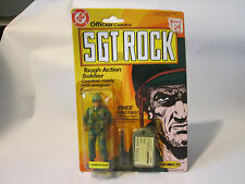 1981 REMCO DC Comics SGT Rock LEATHERNECK Soldier Action Figure Dog Tags - RARE!
