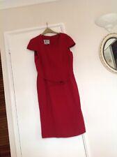 Ladies Austin Reed Signature Red Dress Size 18 & Matching Jacket Size 16