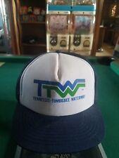 Vinta Tennessee Tombigbee Waterway ADVERTISING SNAPBACK TRUCKER MESH HAT CAP