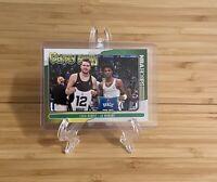 2020-21 Panini NBA Hoops Basketball Luka Doncic Ja Morant Jersey Swap Insert #7