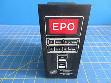 Wafer Process Systems 100 Epo Emergency Power Off Panel