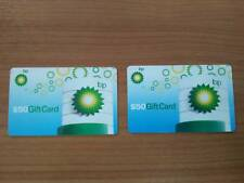 BP Gas Gift Cards - $100 Value - Two $50 BP Gift Cards