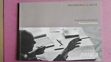 (R9_4) Hauswedell & Nolte. Rückschau und Ausblick. Review and Preview- 2009/2