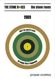 the stone roses A3 Art Print - Football Casuals Poster indie music original