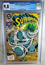 Superman Man of Steel #18 1st Doomsday D.C. DC 1992 CGC 9.8 NM/MT WP Comic S0097