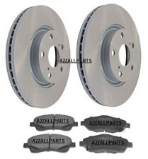 FOR TOYOTA COROLLA VERSO 2.2TD D4D 06 07 08 09 FRONT BRAKE PADS DISC SET