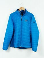 Mountain Hardwear Jacket Quilted Blue Waterproof Breathable Mens Size L