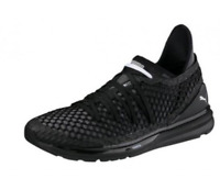 PUMA MEN'S IGNITE Limitless NETFIT Trainers Athletic shoes black/white 189983 01