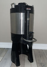 Bunn SGC-60D 1.5 Gal Stainless Thermo Insulated Hot Coffee Dispenser w/Stand