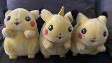 Lot of 3 Pokemon I Choose You Pikachu Talking Electronic Plush