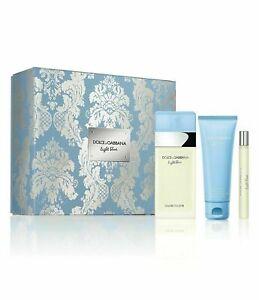 Light Blue by Dolce & Gabbana, 3 Piece Gift Set for Women