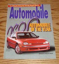 Original 1994 Plymouth Dodge Neon Automobile Magazine Sales Brochure 94