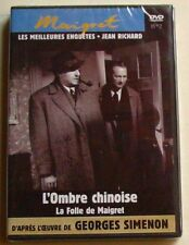 DVD MAIGRET - L'OMBRE CHINOISE - LES MEILLEURS ENQUETES N°2 - Jean RICHARD  NEUF