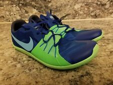 Nike Zoom Forever 5 XC Spikes Running shoes MENS Size 9 Blue Green 904723-403