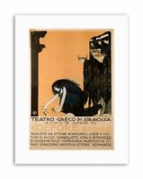 THEATRE COEFORE AESCHYLUS GREEK SYRACUSE SICILY Picture Canvas art Prints