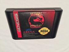 Mortal Kombat (Sega Genesis) Game Cartridge Excellent!