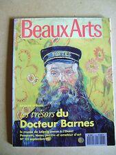 Magazine Beaux Arts les trésors du Docteur Barnes de  Septembre 1993 N° 115 /U11