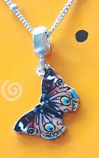 BUTTERFLY NECKLACE BIRTHDAY GIFT for MOTHER SISTER FRIEND GIRL NATURE GARDEN NEW