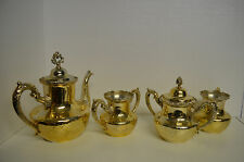 ROYAL MFG. CO. Triple Plate and Gold tone, 5 pieces Serving Formal tableware