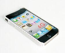 Protector Funda Bumper Carcasa Rígida PVC Telefono Movil iPhone 4G Blanca 956