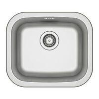 Ikea Küchenspüle OHNE SIPHON Waschbecken Einbauspüle Spüle Spülbecken FYNDIG NEU