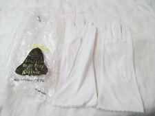 Vintage Kaydoe stretch 100% Nylon Ladies Gloves white one size fits all