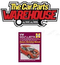 Haynes Owners Workshop Car Manual VW Golf & Jetta 04-07 Petrol Diesel H4610