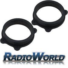 """BMW 3 Series e46 compact MDF Front Speaker 6.5"""" Speaker Adaptors / Rings Spacers"""