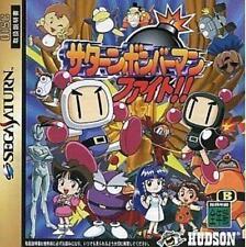 USED Saturn Bomberman Fight!! Sega Saturn Japan Import