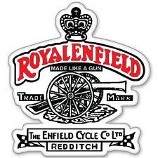 Custom Made Like A Gun Tank pad Sticker for Royal Enfield(bike tank pad)