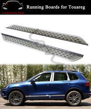 2PCS Aluminium Running Boards fits for VW Touareg 2011-2018 Side Step Nerf Bars