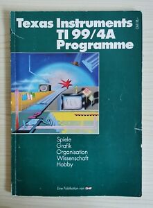 CHIP Sonderheft: Texas Instruments TI-99/4A Programme