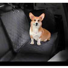 Double Dog Car Seat Covers Hammock for BackSeat,Waterproof Car Truck + Seatbelt