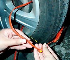 Simple Universal Emergency Traction Aids Car SUV Van Anti-Slip Tire Snow Chains