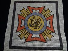 Vintage - Veterans of Foreign Wars (VFW) - Needlepoint Canvas Kit
