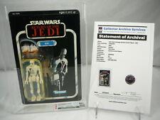 Star Wars 8D8 77 Back 1983 Vintage Kenner ROTJ CAS AFA 85 Employee Owned Rare