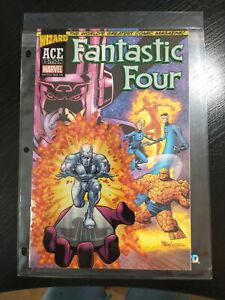 Fantastic Four #48 Wizard Ace Edition Acetate Cover Marvel 2002