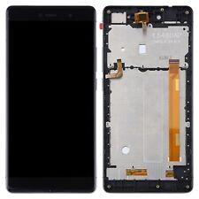 Schermo LCD completo con frame per Wiko Fever 4G nero