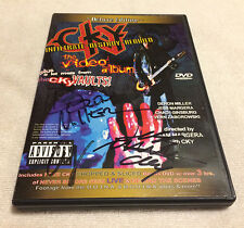 cKy Infiltrate Destroy Rebuild The Video Album Signed DVD Bam Jackass Signed