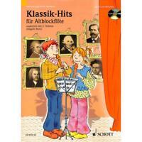 Klassik-Hits - Noten für Altblockflöte (mit 2. Stimme) (+CD) 9575-50