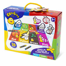 CBeebies Giant 3D Colours Floor Puzzle Toddlers Boys Girls Kids Gift Xmas