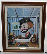 FREDDIE IN THE TUB by RED SKELTON - Authorized Print